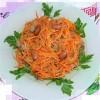 Салат с куриной печенью, морковью и яблоками