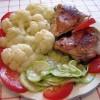 Цыпленок с цветной капустой