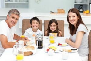 полезный завтрак для всей семьи