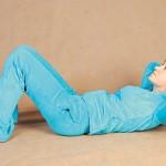 как избавиться от отвисшего живота упражнения